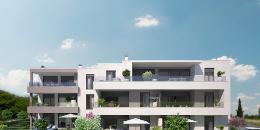 2 Bedroom Apartment with terrace and garden (V2-B)